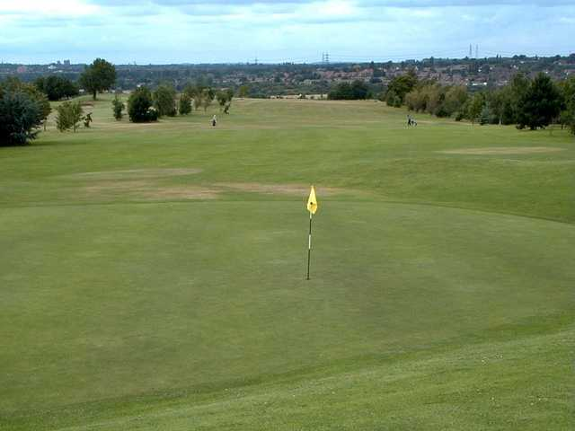 Superb rolling greens at Hilltop Golf Club