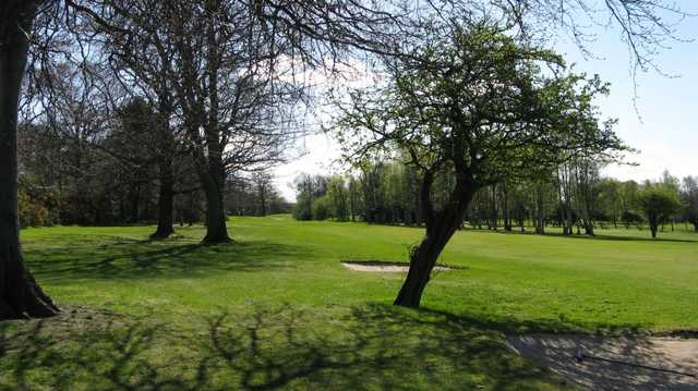 A view of the 5th tee at Duddingston