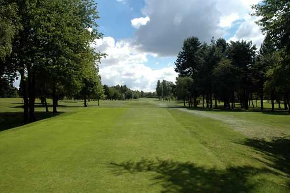5th hole at South Staffordshire Golf Club