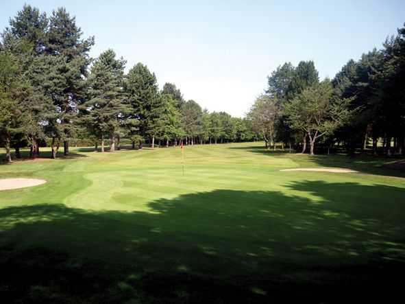 17th hole at South Staffordshire Golf Club