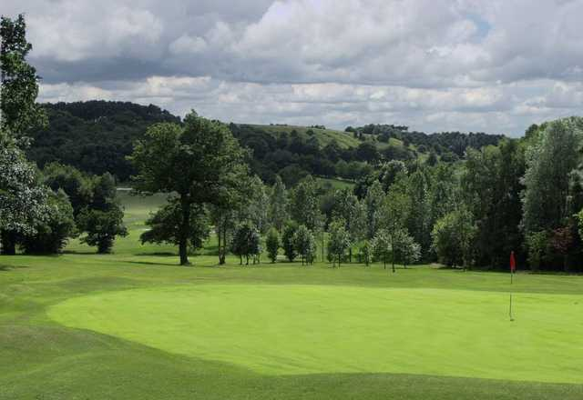 The parkland surroundings at the Lickey Hills Golf Club