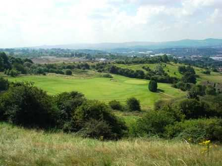 View from Dudley Golf Club