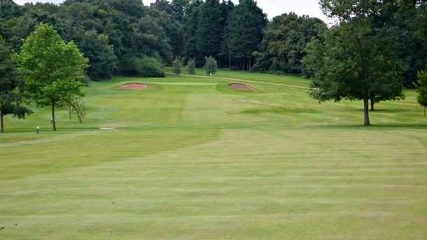 The long 10th fairway at Bush Hill Park