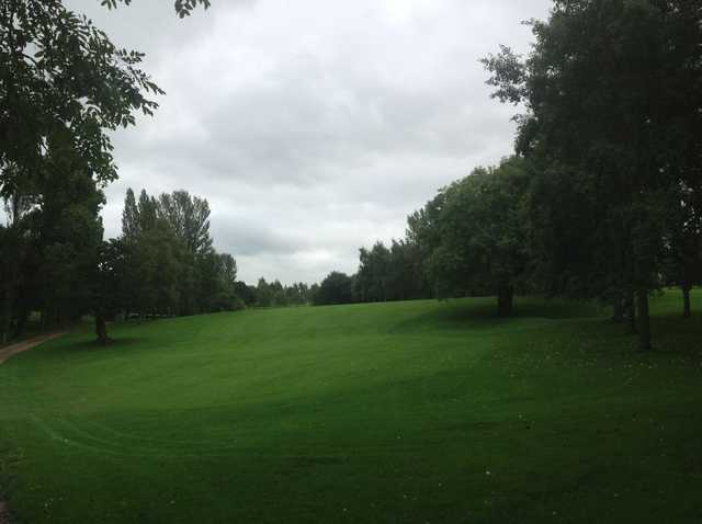 View from a tee at Uttoxeter Golf Club