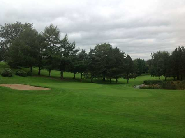 Approach from Uttoxeter Golf Club