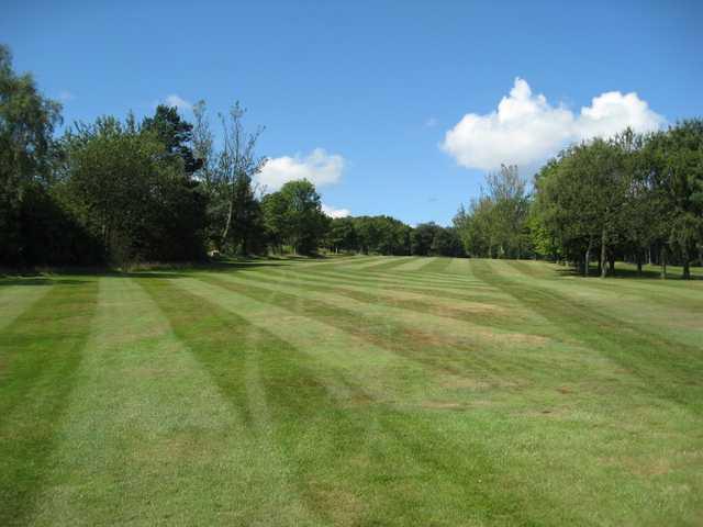 View of the 1st fairway at Hillsborough Golf Club
