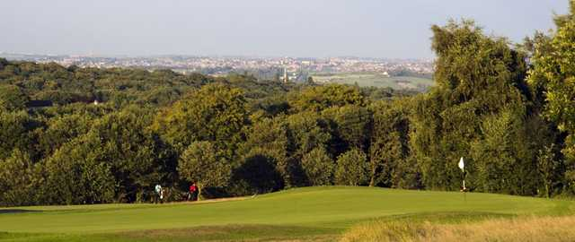 Superb views from the well kept greens at Huddersfield