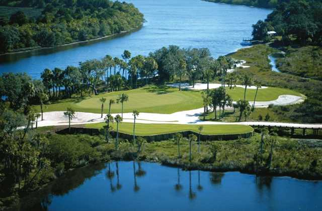 View of the 14th hole at Waterlefe Golf & River Club