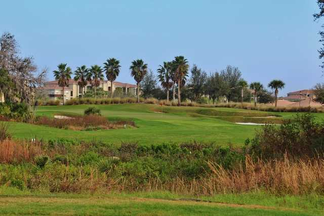 View of the 2nd hole from the Estuary course at River Strand Golf and Country Club