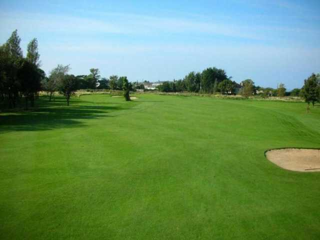 View of the course well kept fairways at Abergele Golf Club