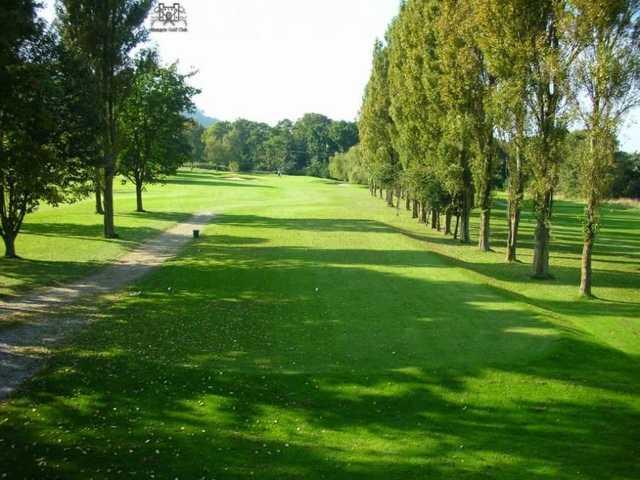 Signature par 3 hole at Aberegele Golf Course