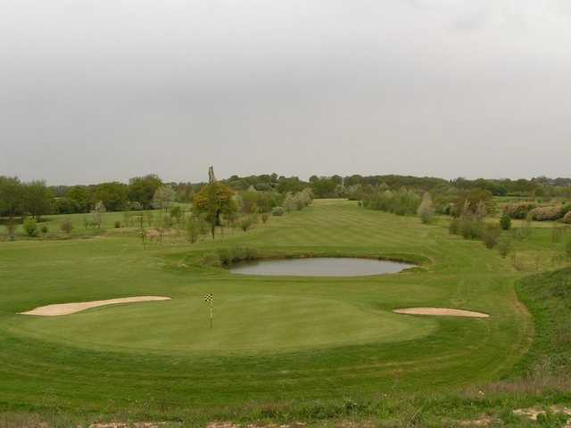 View from the 17th hole at Kent & Surrey Golf Club