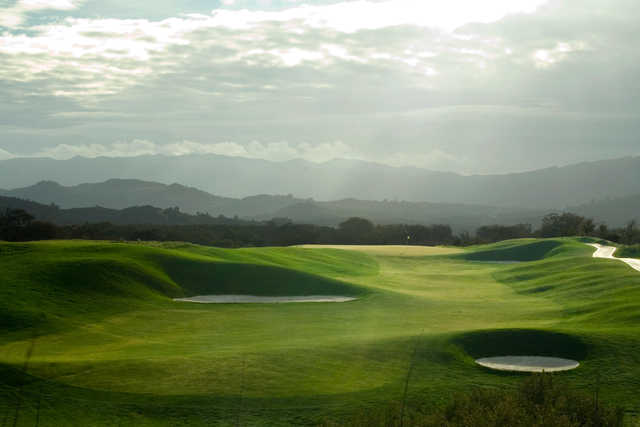 View of the 10th green at CrossCreek Golf Club
