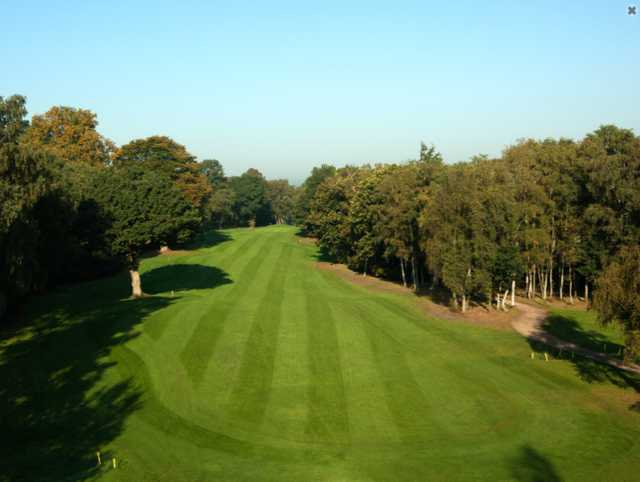 Aerial view of no. 3 at Silvermere