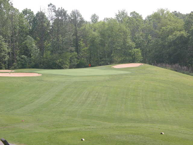 3rd green at Cobb's Glen Country Club