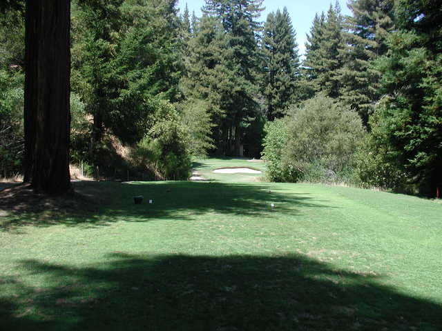 View from the 18th tee at Boulder Creek Golf & Country Club