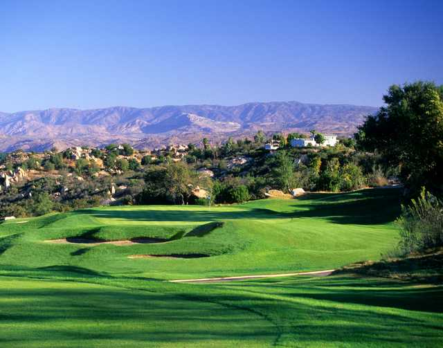 View of the 16th hole at Mt. Woodson Golf Club