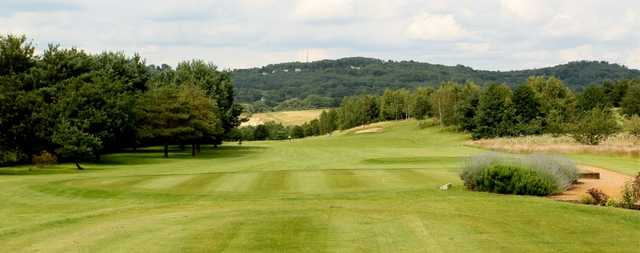 View from the 1st tee at Bletchingley Golf Club