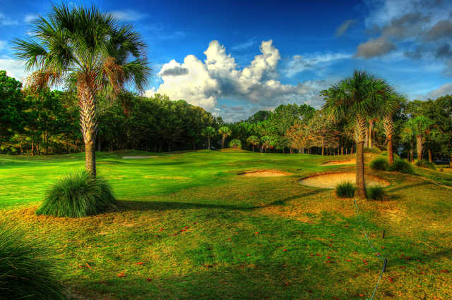 View of the 11th hole at Charleston National Golf Club.