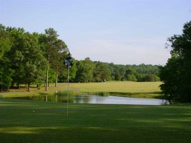 View of the 1st hole at Lincoln Country Club