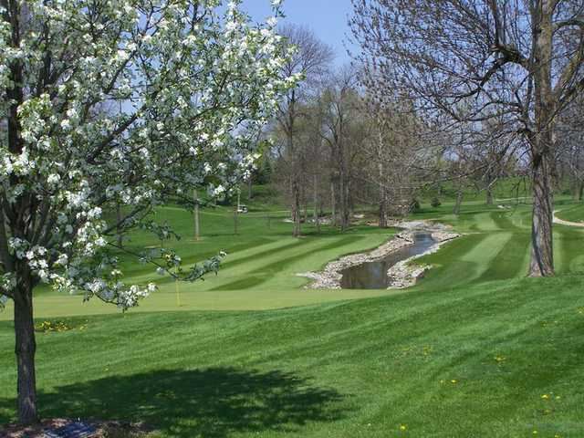 A spring view from Woussickett Golf Course