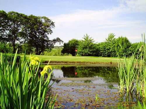 17th green at Pennant Park Golf Club