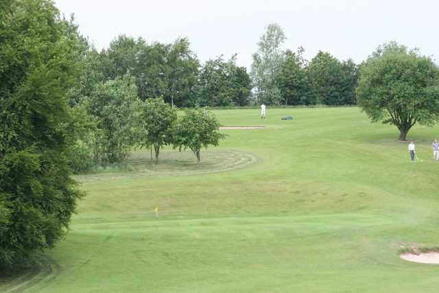 16th hole at Sherdley Park Golf Club