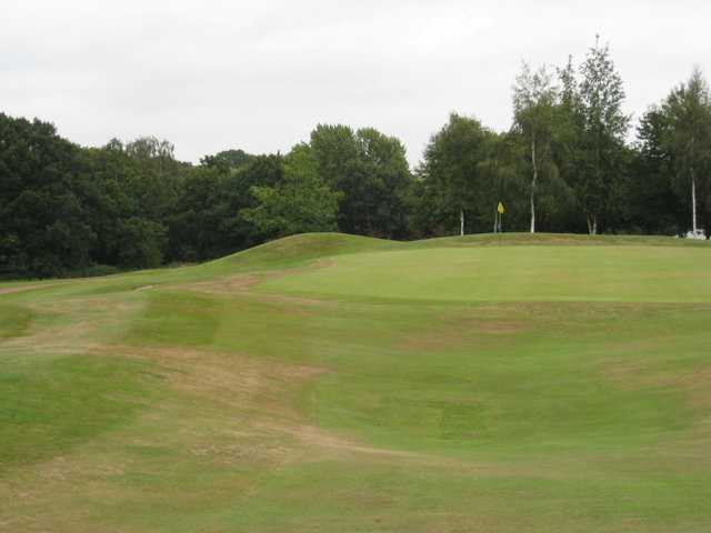 Scenic view of the 9th green at Vale Royal Abbey Golf Club