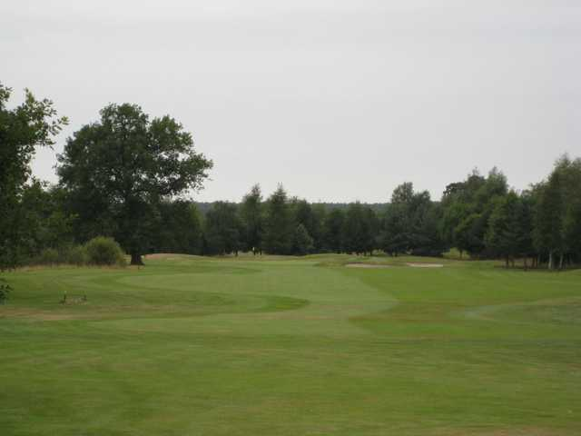 Scenic view of the 1st fairway at Vale Royal Abbey Golf Club