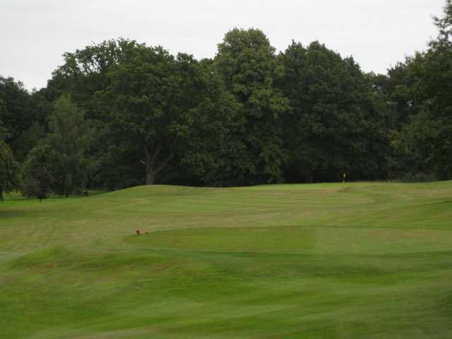 View of the 10th hole at Vale Royal Abbey Golf Club