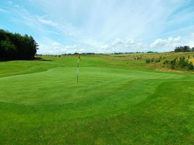 Immaculate greens at Forbes of Kingennie