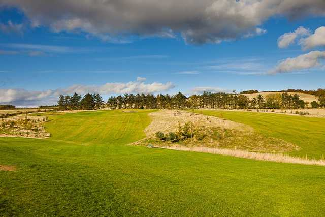 The Forbes of Kingennie Course is an undulating track