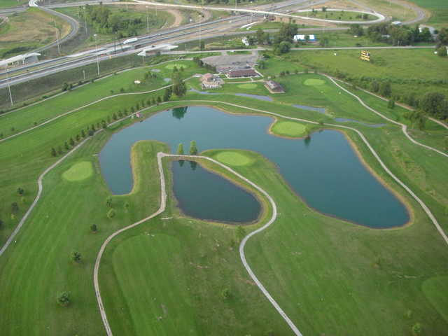 Aerial view from Deer Pass Golf Course