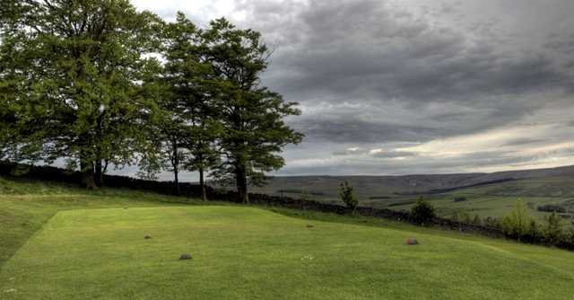 View from a tee box at Allendale Golf Club