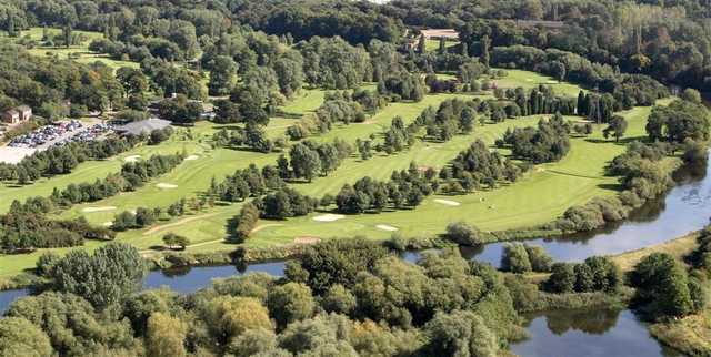 Aerial view from the Branston Golf & Country Club - 14th & 17th