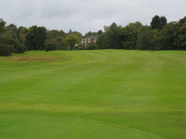 A fairway view at the Wirral Golf Club