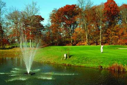 A fall view from Hawthorne Valley Golf Club