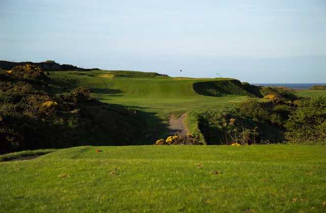 2nd hole at Holyhead