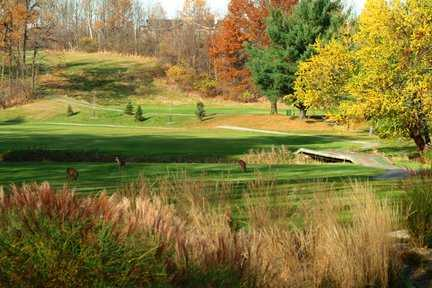 A view from Hawthorne Valley Golf Club