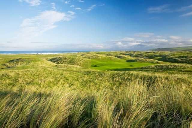 Stunning views across the golf course at Machrihanish Dunes