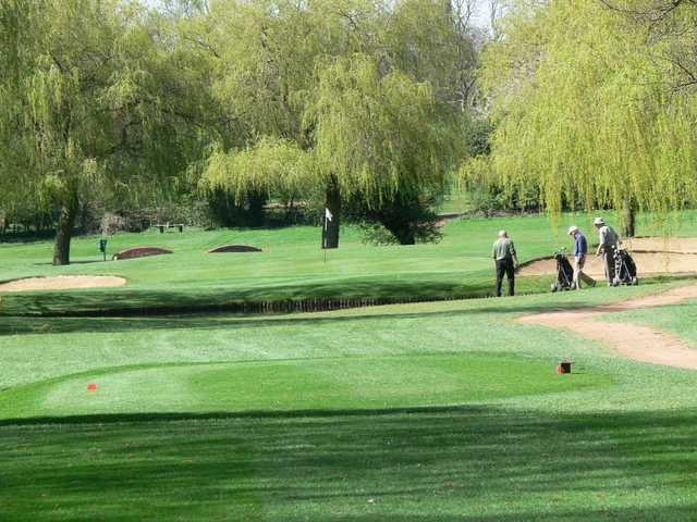 The undulating course at Letchworth Golf Club