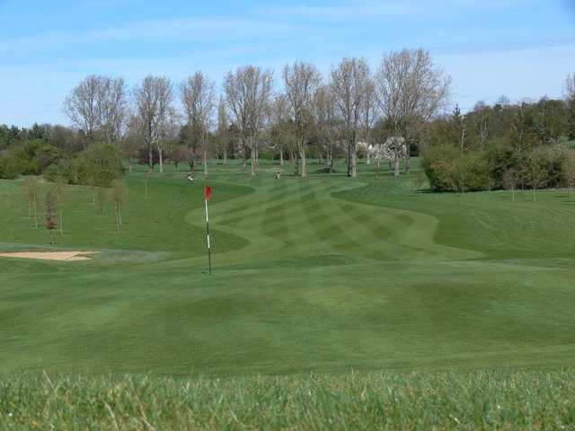 The sweeping golf course at Letchworth Golf Club