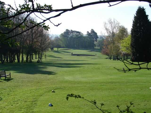 View from Letchworth GC