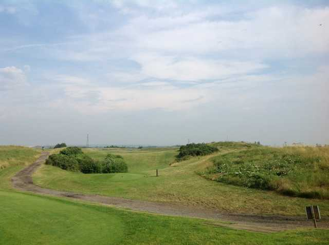 The scenic 5th tee at Pedham Place Golf Club