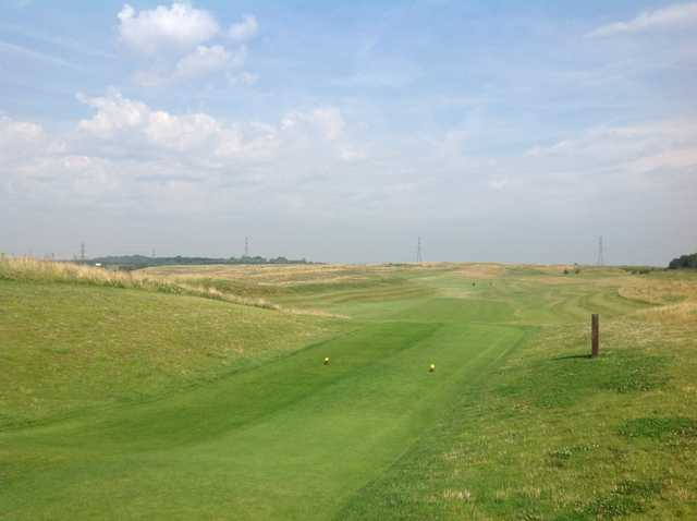 A stunning view from the 4th tee at Pedham Place Golf Club