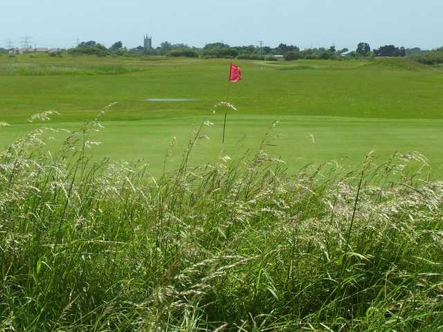 A greenside view at Lydd