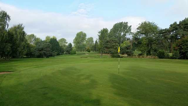 The 3rd hole at Vicars Cross Golf Club