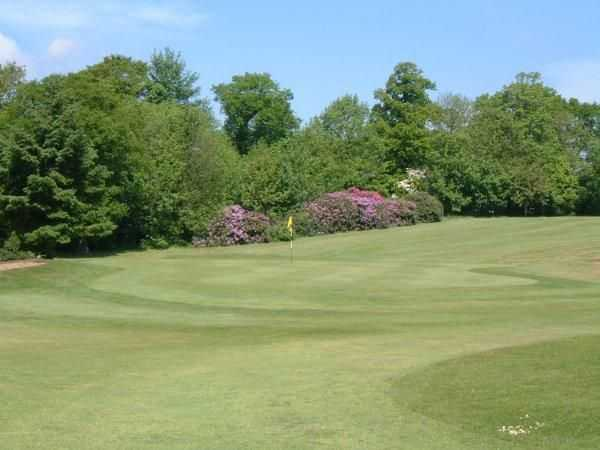 Immaculate quick greens at Bedlingtonshire Golf Club