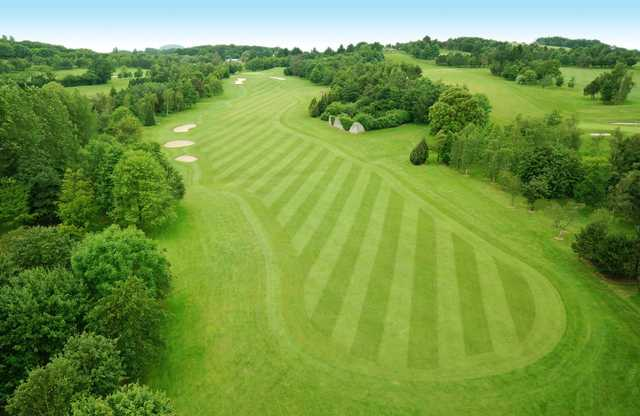 Dainton Park Golf Club's 3rd fairway