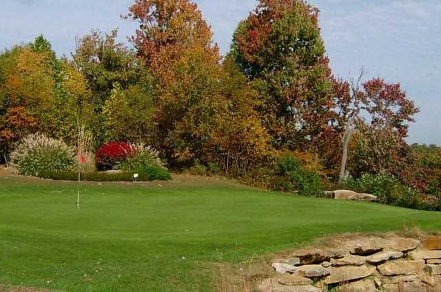 A fall view from Cherry Wood Golf Course